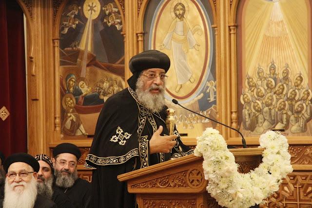 His Holiness Pope Tawadros II visit to St. Mark LA - _MG_0594.JPG