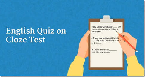 English Cloze Test Questions and Answers IBPS SBI Bank PO Clerk 1-5 Quiz
