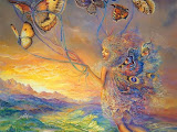 Fairy Flying On Butterflies