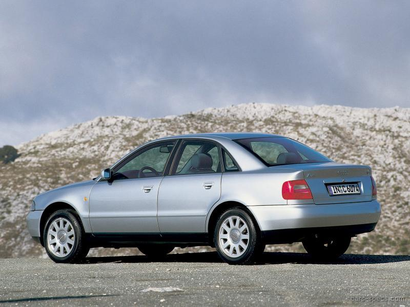 2000 Audi A4 Sedan Specifications, Pictures, Prices
