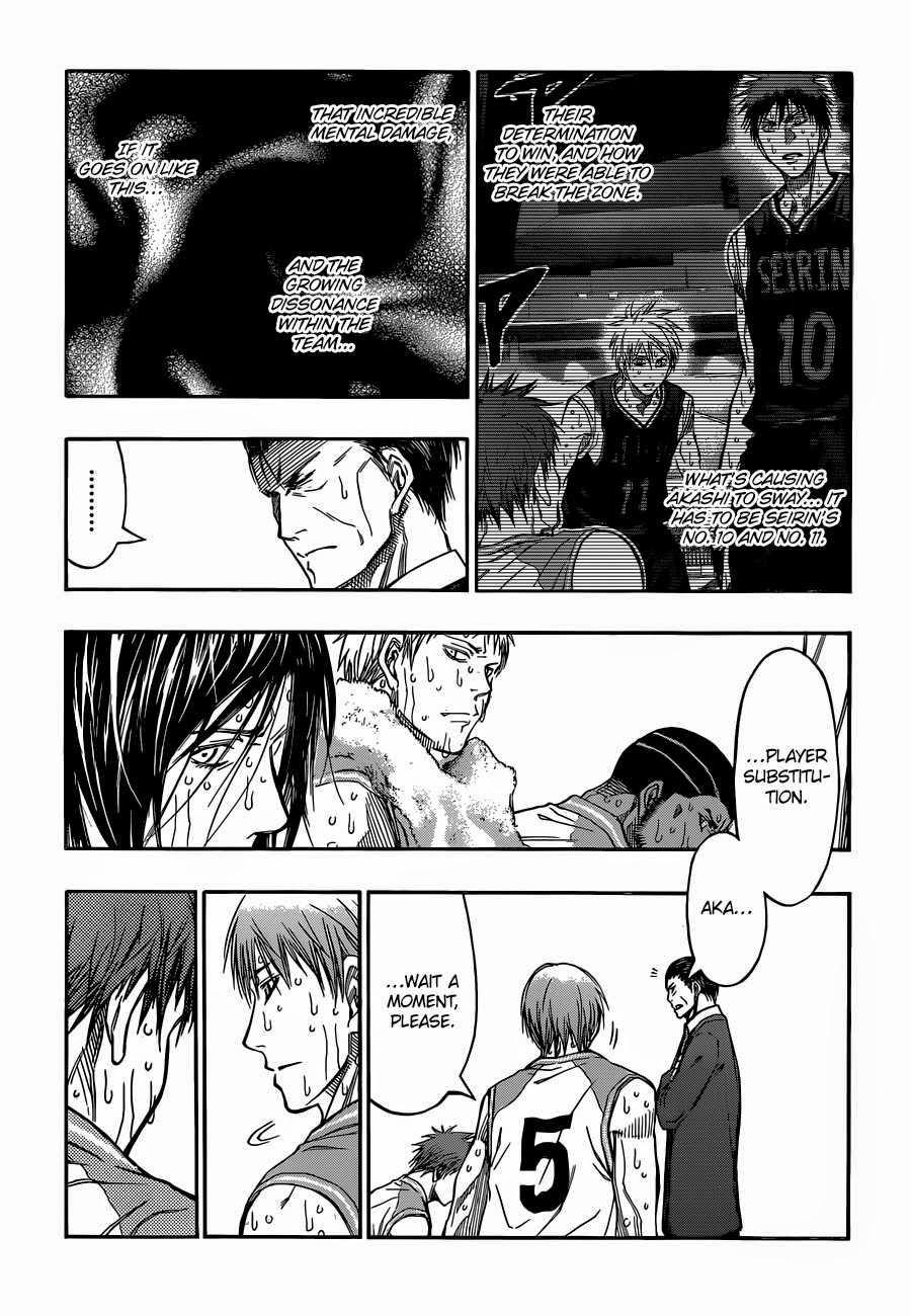 Kuroko no Basket Manga Chapter 266 - Image 03