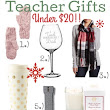 Teacher Gifts Under $20!!