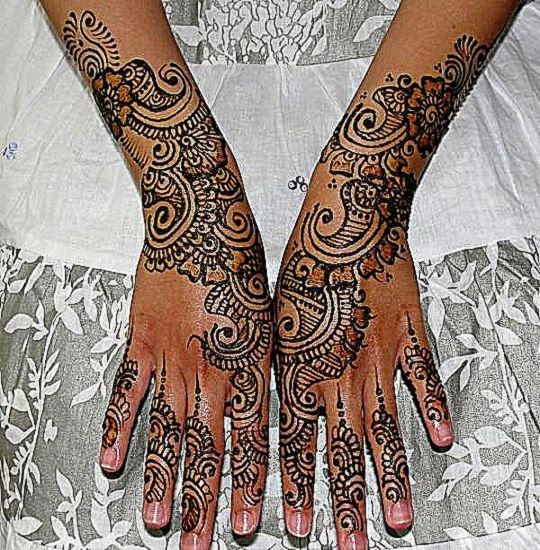 Intricate Mehndi Patterns : Henna tattoo free pictures