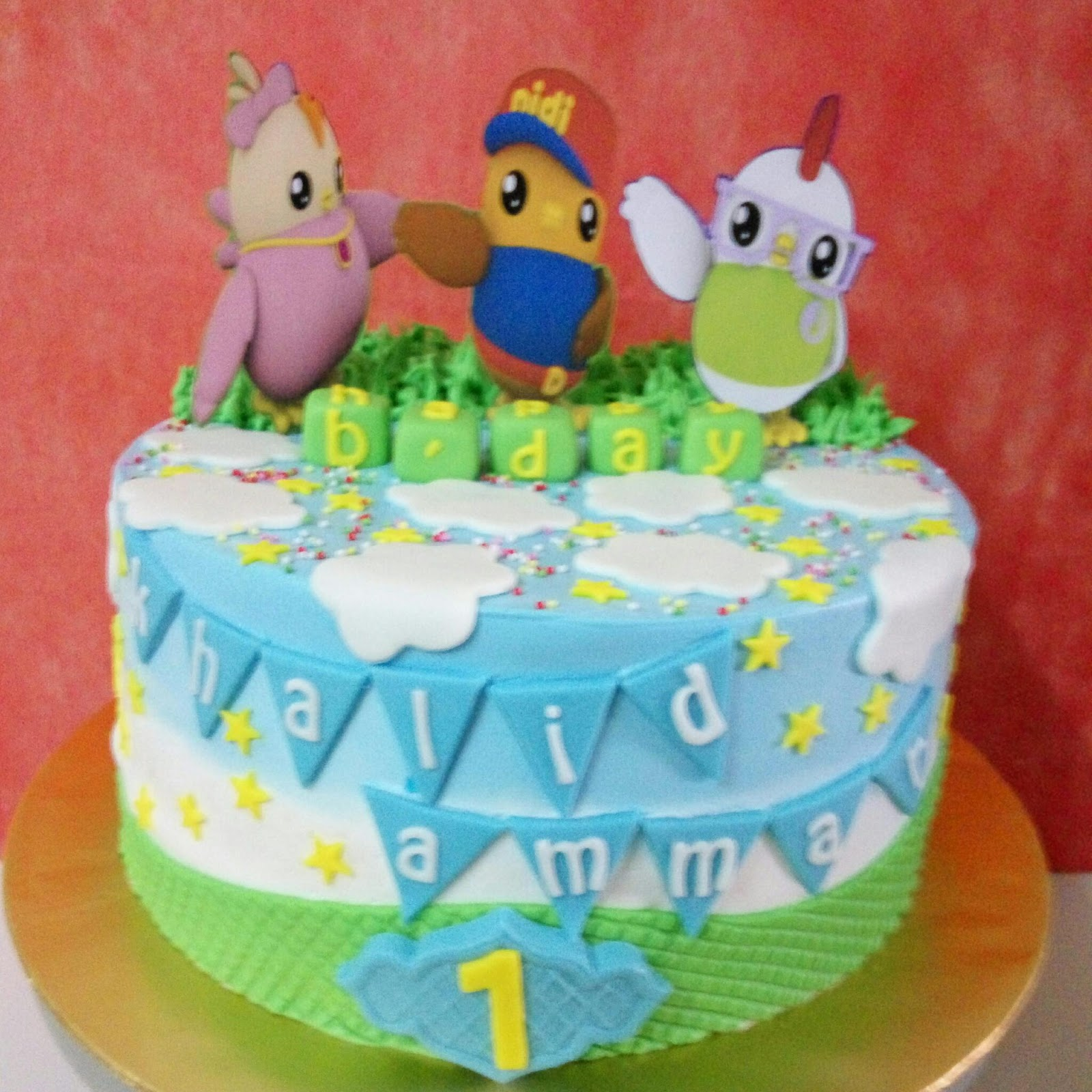 Images Of Birthday Cake For Didi : szcutesweet: Birthday cake didi and friends