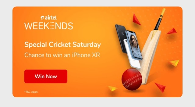 Airtel weekend quiz Answers; 12th & 13h September 2020| Win iPhone 11