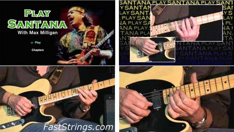 Max Milligan - Play Carlos Santana