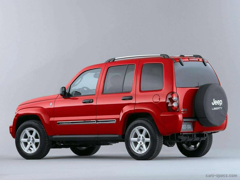 2005 jeep liberty suv specifications pictures prices. Black Bedroom Furniture Sets. Home Design Ideas