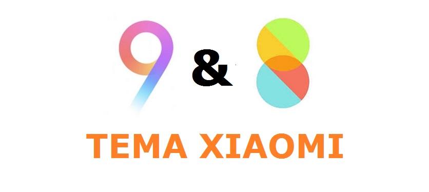 Tema Xiaomi MIUI 8 / MIUI 9 Terbaik