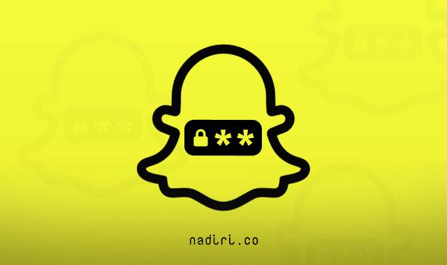 كيفية تغيير كلمة السر لحساب سناب شات - تغيير كلمة مرور أو باسورد في Snapchat