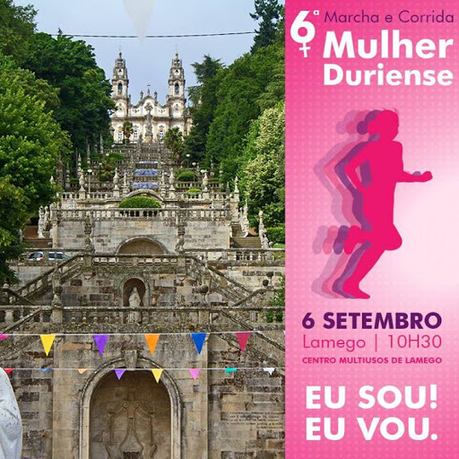 6ª Marcha e Corrida Mulher Duriense - Lamego - 6 de Setembro - 2015