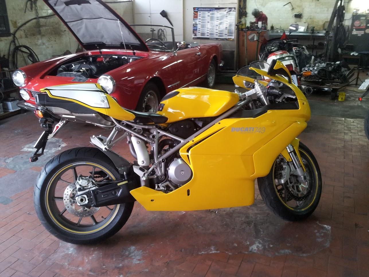 Base Ducati 749 Steering Damper Ducati Ms The
