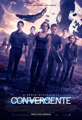 A Série Divergente - Convergente - Pôster nacional