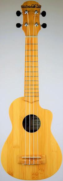 "Veelah ""Vamboo"" Bamboo Soprano Ukulele Corner"