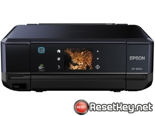 Resetting Epson EP-805A printer Waste Ink Counter
