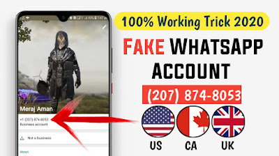How to make a fake WhatsApp account [ Latest Method and 100%Working ]