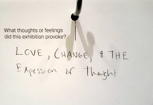 Love, Change, and the Expression of Thought. From 30 Americans at the Detroit Institute of Arts