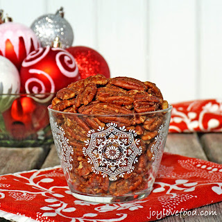 Sweet and Spicy Pecans.
