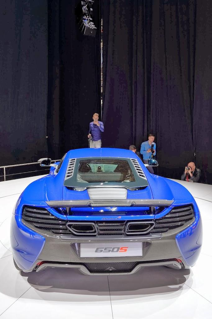 McLaren 650S Spider Geneva Motor Show 8