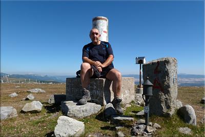 Aumategi/Saiturri mendiaren gailurra 1.191 m. -  2012ko uztailaren 23an
