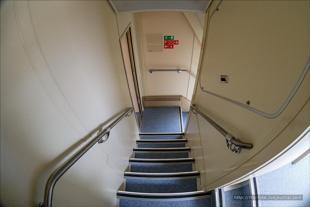 зимний фотографии вагона двухэтажного поезда можете