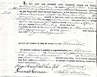 Dijk, Kornelis van Geboorteakte 21-09-1839 Vlaardingen.jpg