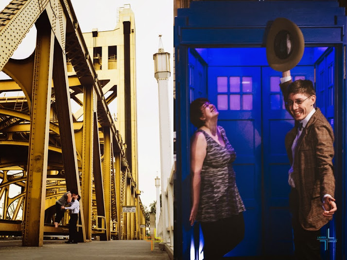Dr Who Engagement Session