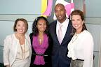 Event co-chair Marcee Henderson, Star James, Dallas Cowboys Linebacker Bradie James and event co-chair Tulisha Buchanan