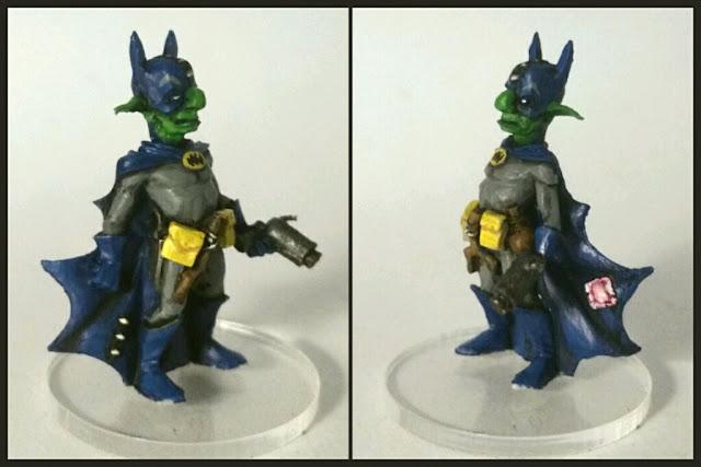 Goblin batgoblinwest pintado por Xela