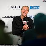 STUTTGART, GERMANY - APRIL 22 : Petra Kvitova talks to the media at the 2016 Porsche Tennis Grand Prix