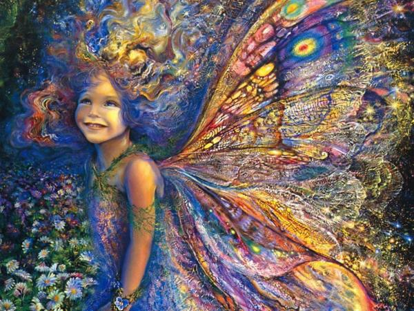 Little Butterfly Girl, Fairies 2