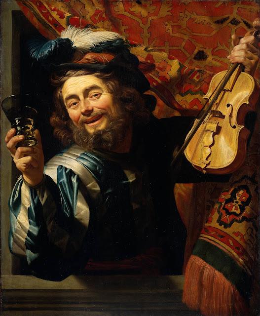 Gerrit van Honthorst - The Merry Fiddler