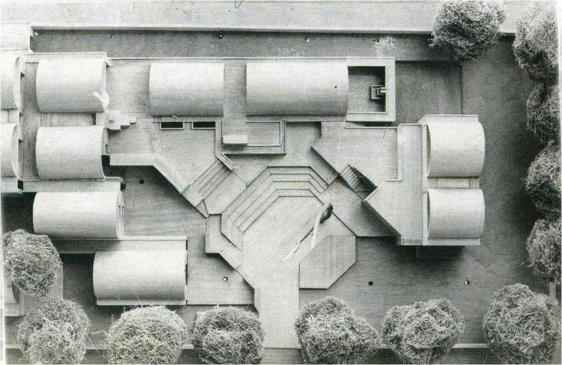Site plan of sangath