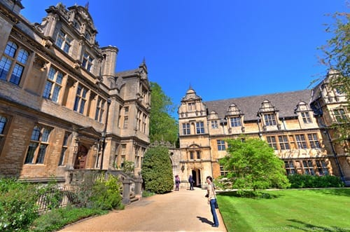 Trinity College Oxford UK