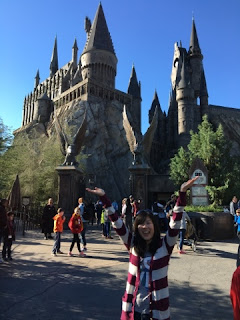It's the Hogwarts Castle!