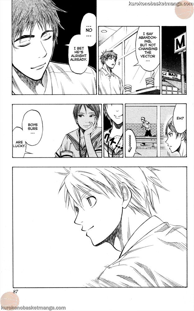 Kuroko no Basket Manga Chapter 56 - Image 19