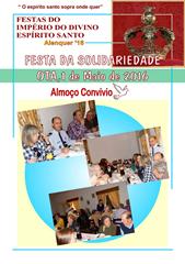 FESTA SOLIDARIEDADE OTA  - ALMOCO CONVIVIO