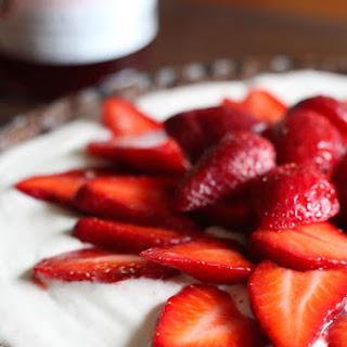 Strawberry Mascarpone Chocolate Crust Tart