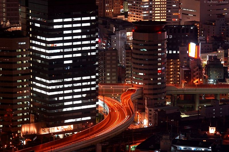 Gate Tower Building, o edifício atravessado por uma rodovia