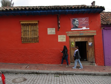 teatro La Candelaria, Bogotá