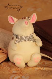 мышь, мышка, мыша, игрушка, шить, текстильная игрушка
