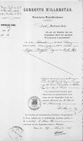 Vos, Nicolaas en Roos, Lijntje Huwelijksbijlage 12-04-1878 Overlijden M. Huijzers.jpg