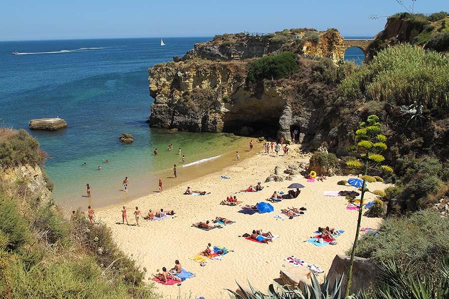 Playa de los Estudiantes, Algarve