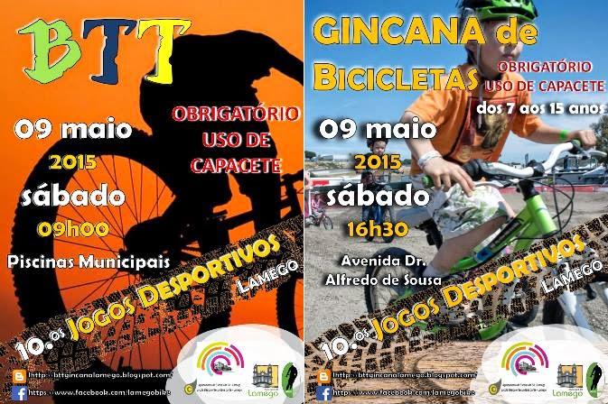 X Jogos Desportivos - Passeio BTT e Gincana de Bicicletas - Lamego