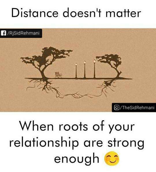 Distance Doesnt Matter Beautiful Quotes Pictures Sid Rehmani