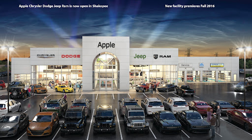 New Used Jeep RAM Dodge And Chrysler Cars In Shakopee Apple - Chrysler dealership phone number