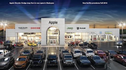 Chrysler Dealership Mn >> Apple Chrysler Dodge Jeep Ram New And Used Car Dealer
