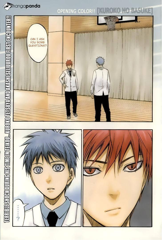 Kuroko no Basket Manga Chapter 206 - Image 01
