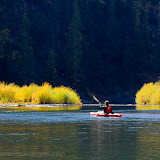 Kayaker on the Blackfoot River. Photo by Nelson Kenter. All Rights Reserved. Prints available at www.kenterphotography.com