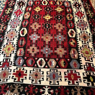 Wool Kilim Area Rug