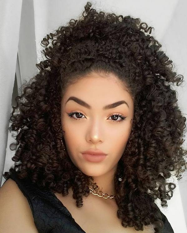 curly hair weave styles curly weave hairstyles 2017 new look styles 7 9838
